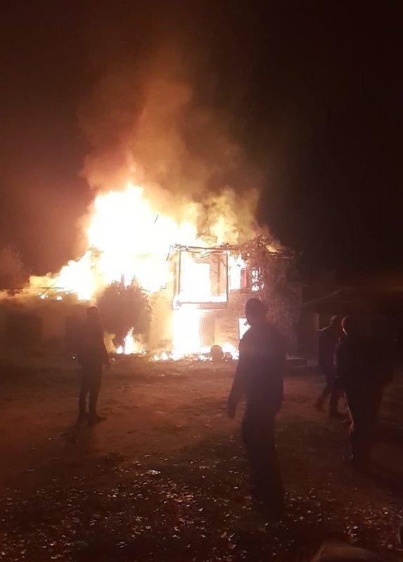 İzmir Ödemiş'te korkutan yangın!