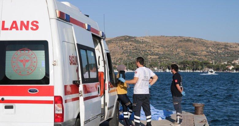 Foça'daki tekne faciasında kaçan kaptan yakalandı