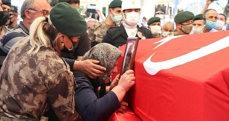 Şehit polis memuru Veli Kabalay, Denizli'de son yolculuğuna uğurlandı