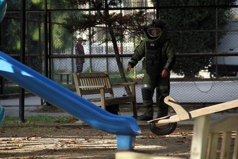 Fethiye'de çocuk parkındaki şüpheli valiz korkuttu