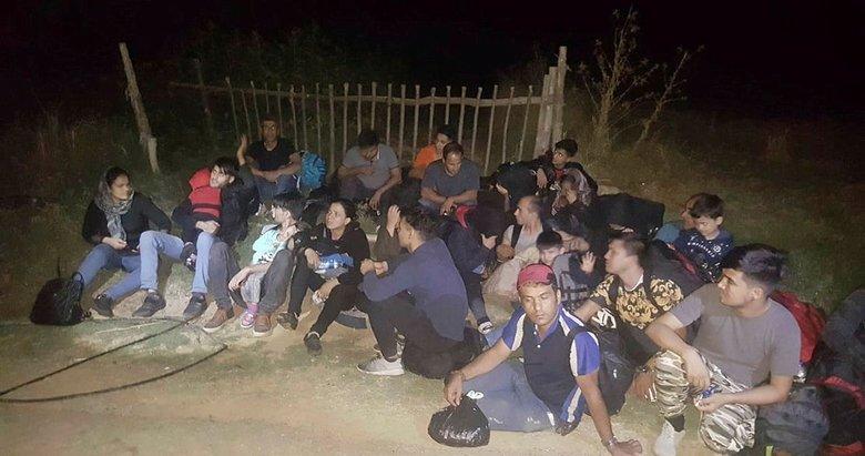 Çanakkale Eceabat'ta 48 mülteci yakalandı