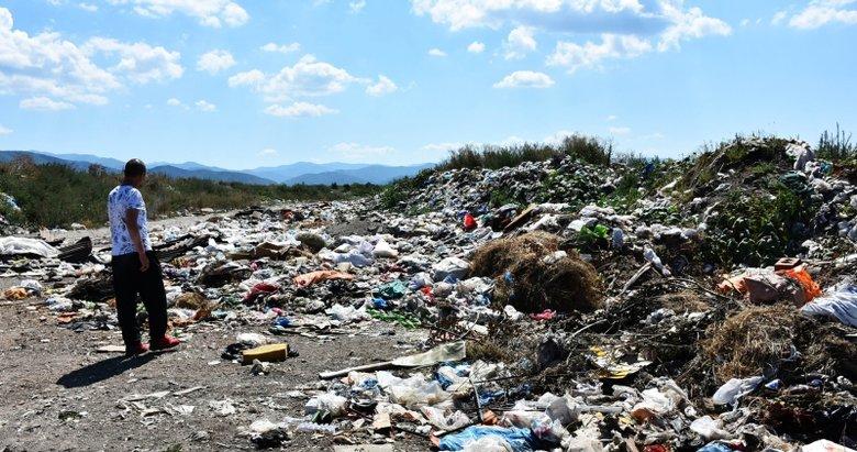 Kaz Dağları'na atılan çöpler, vatandaşların tepkisini çekiyor!