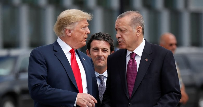 Erdoğan ile Trump telefonla görüştü