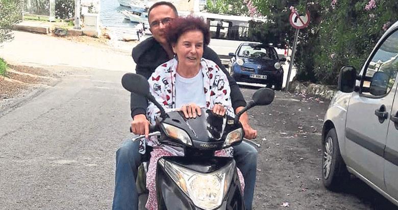Fatma Girik'ten tehlikeli yolculuk