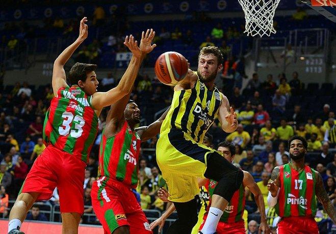 Pınar Karşıyaka, güçlü rakibi Fenerbahçe önünde etkili olamadı, ligdeki düşüşünü sürdürdü.