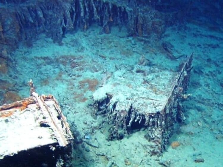 Efsanevi gemi Titanik yıllar sonra görüntülendi! Okyanusun derinliklerinde şok eden görüntü....