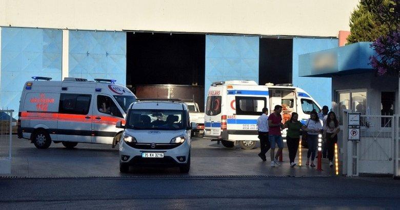 İzmirde iş kazası can aldı