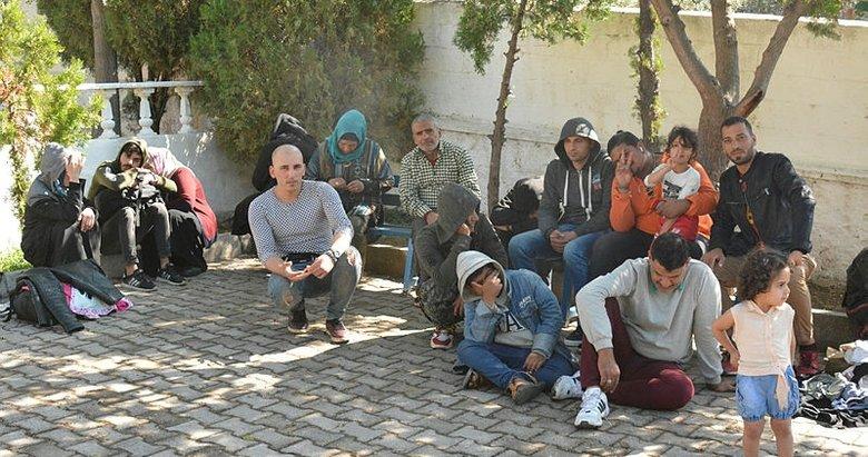 Çanakkale'de 190 düzensiz göçmen yakalandı