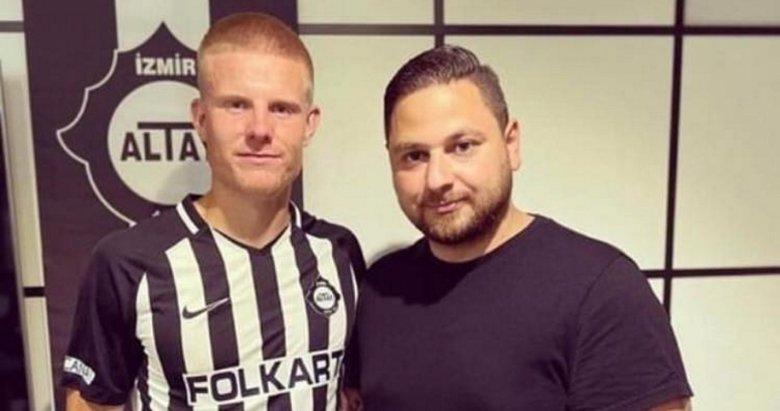 Altay Björkander ile sözleşme imzaladı
