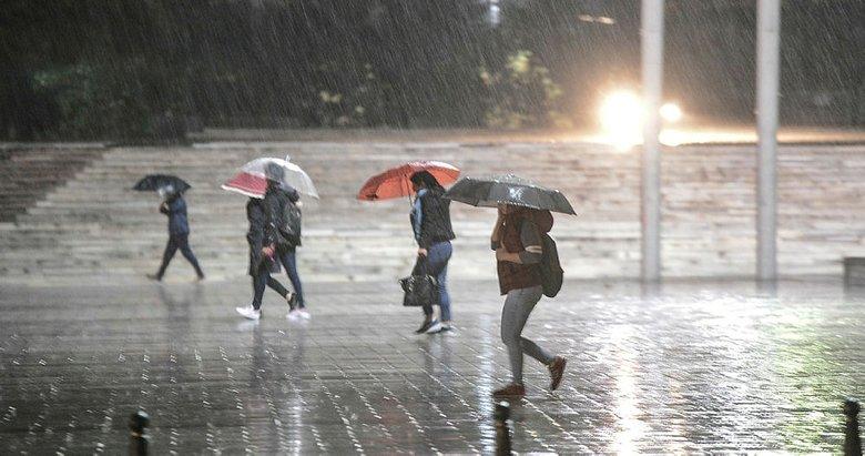 Aydına kuvvetli yağış uyarısı