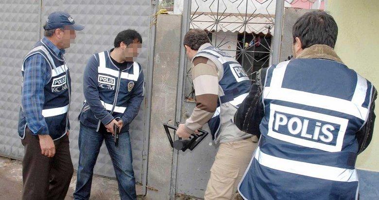 İzmirde bir haftada 64 uyuşturucu operasyonu