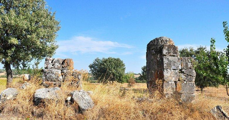 Tam 2 bin 300 yıllık! Sidas Antik Kenti, gün yüzüne çıkmayı bekliyor
