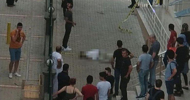 İzmir'de yüksek lisans öğrencisi 7'nci kattan atladı