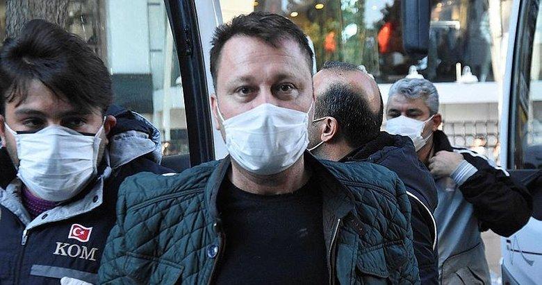 Yolsuzluktan tutuklanan eski CHP'li Menemen Belediye Başkanı Serdar Aksoy hakim karşısında