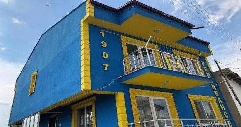 Kiremidine kadar Fenerbahçeli ev yaptırdı