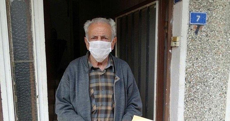 Emekli maaşını 'Helal olsun' diyerek bağışladı