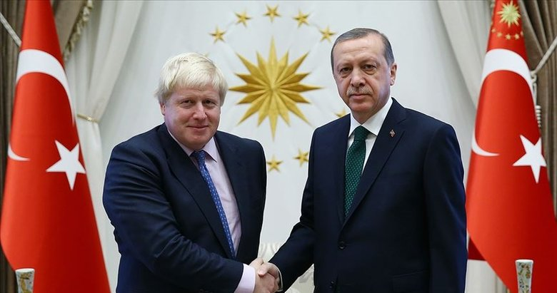Son dakika: Başkan Erdoğan, İngiltere Başbakanı Johnson ile görüştü