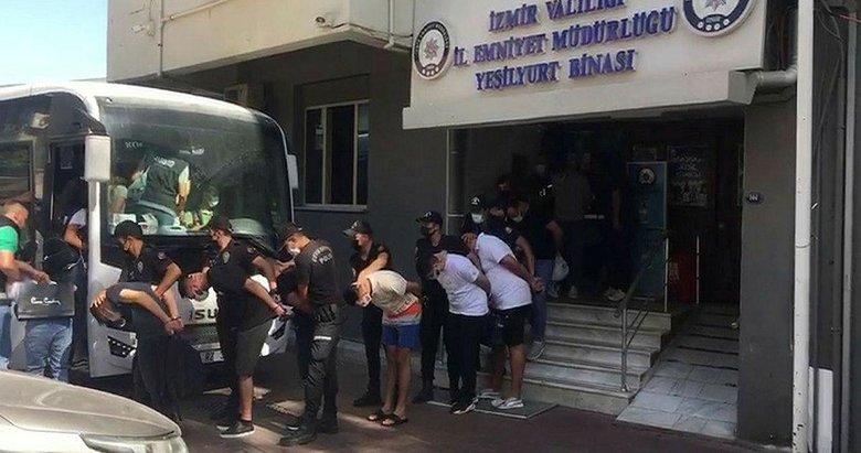 İzmir'de gece kulübüne silahlı saldırıda 1 kişinin ölmesiyle ilgili 10 tutuklama