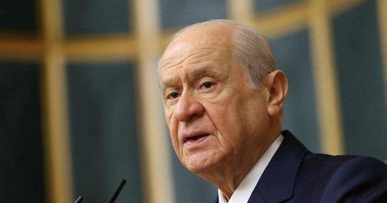 MHP lideri Devlet Bahçeli'den basın toplantısında önemli mesajlar