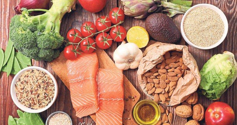Vücut direncinin sırrı dengeli beslenme