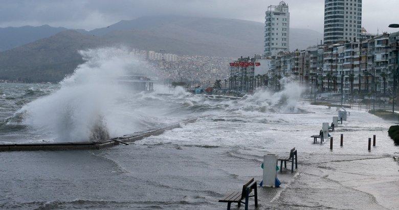 Meteoroloji'den İzmir ve Aydın'a uyarı! Sel ve su baskınlarına dikkat