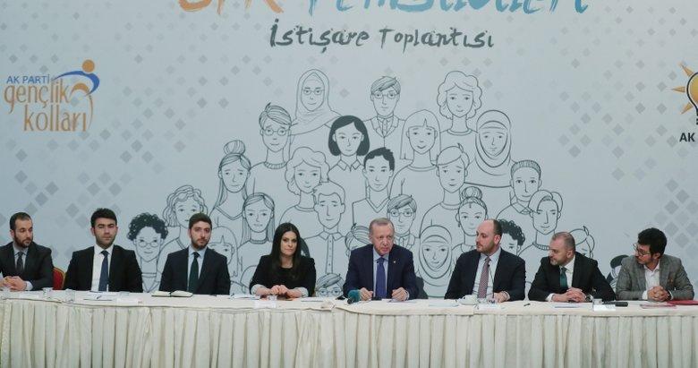 Başkan Erdoğan, gençlik alanında çalışan STK temsilcileriyle bir araya geldi