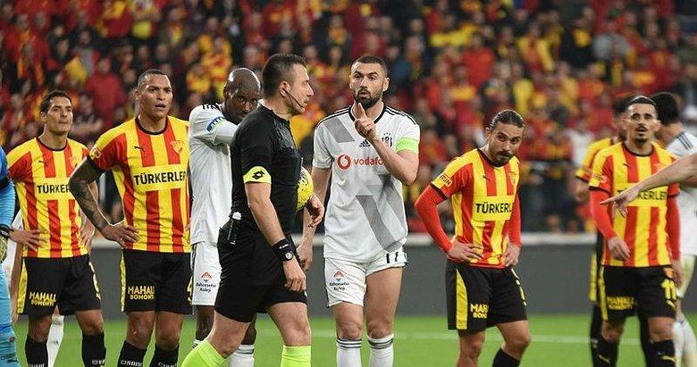 TFF'den Göztepe - Beşiktaş maçındaki kural hatası itirazıyla ilgili karar