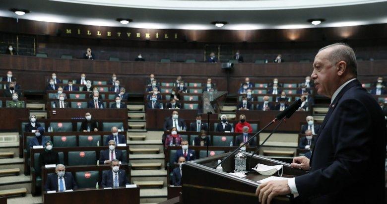 Başkan Erdoğan'dan AK Parti Grup Toplantısı'nda önemli mesajlar