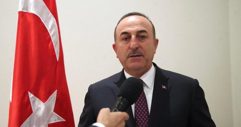 Mevlüt Çavuşoğlu'ndan Barış Pınarı Harekatı'yla ilgili önemli açıklamalar