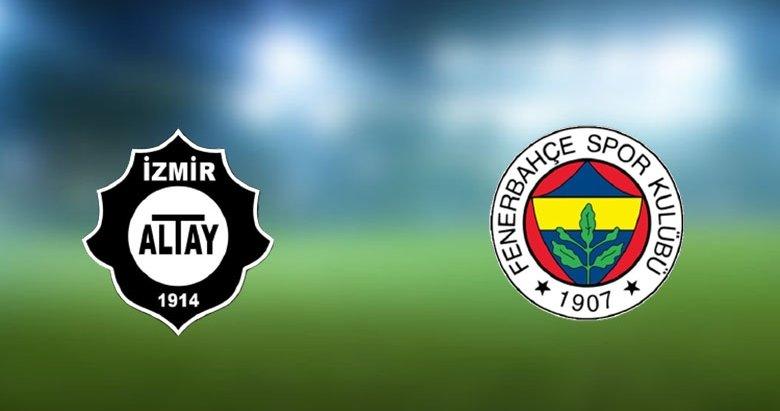 Altay ile Fenerbahçe 83. randevuda