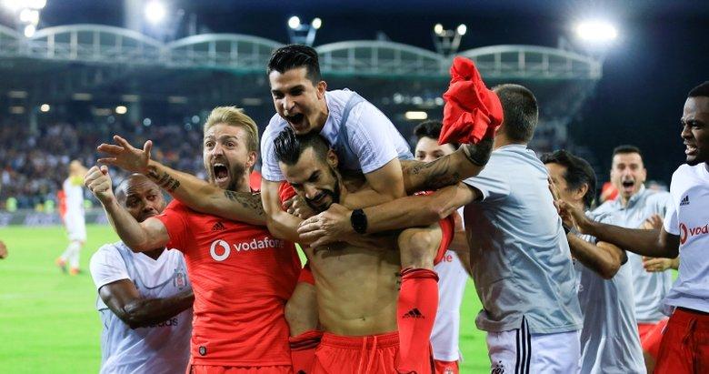 Beşiktaş play off turuna yükseldi