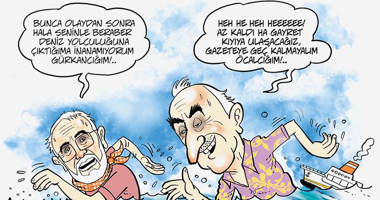 İzmir Körfezi'nde 'Görevimiz Tehlike'yi çevirdik