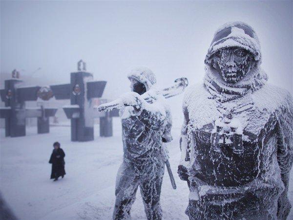 Burada hava sıcaklığı -71 derece