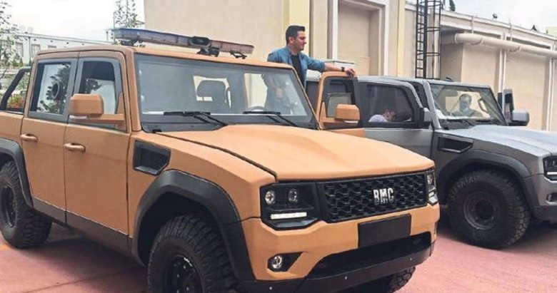 BMC'nin zırhlı pikap aracı seri üretime hazır