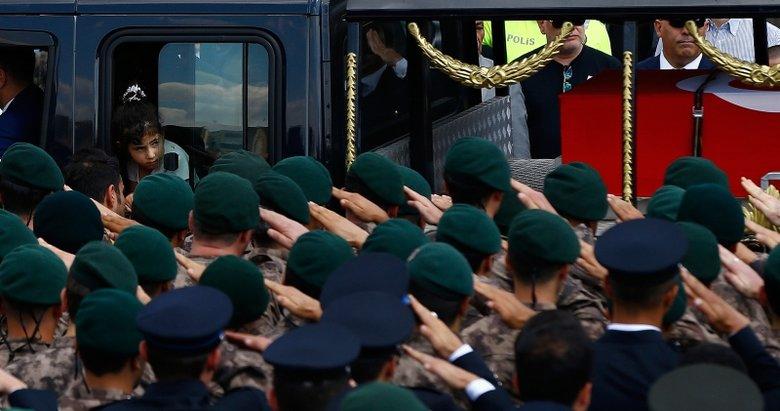 Şehit Özel Harekat Şube Müdürü Tufan Kansuva son yolculuğuna uğurlandı