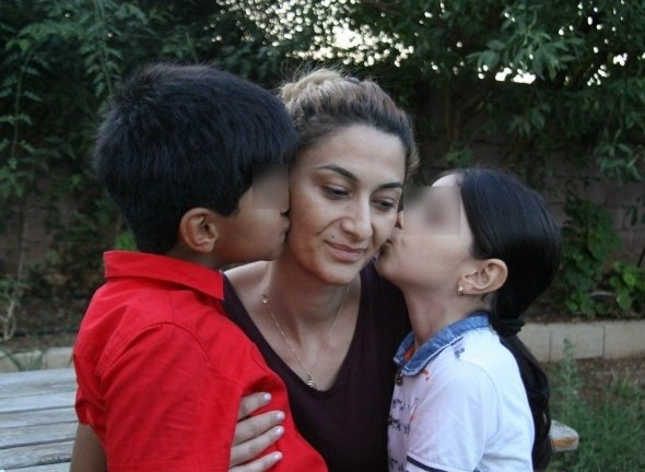 Azeri eski koca iki çocuğunun annesine Antalya'da kabusu yaşattı