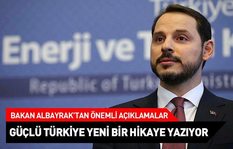 Hazine ve Maliye Bakanı Berat Albayrak'tan önemli açıklamalar