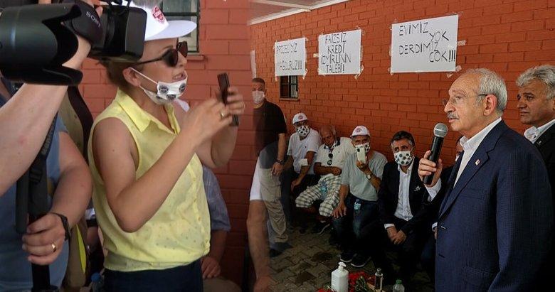 İzmir'de depremzedeler tepki gösterince Kılıçdaroğlu arkasını dönüp gitti