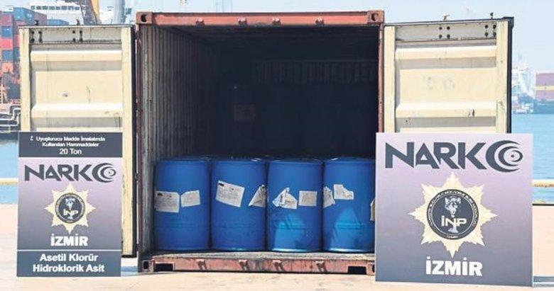Aliağa Limanı'nda kimyasal operasyonu