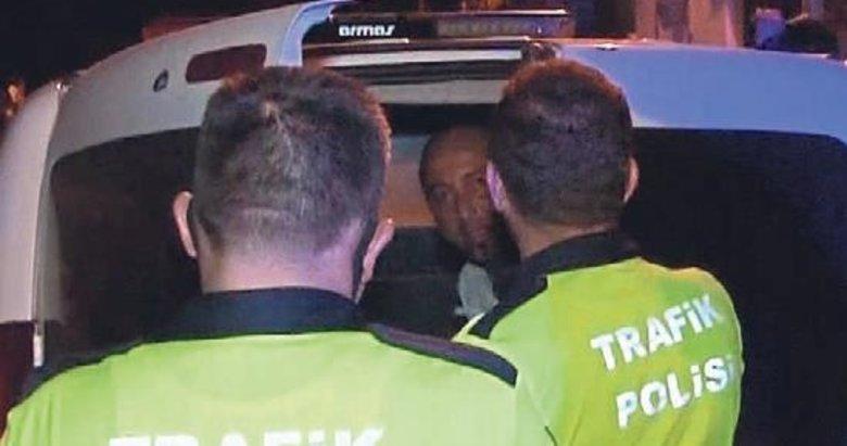Uslanmayan alkollü sürücü bu kez 6 bin TL ceza yedi