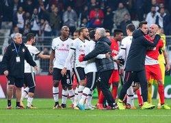 Beşiktaş - Monaco maçı sonrası olay