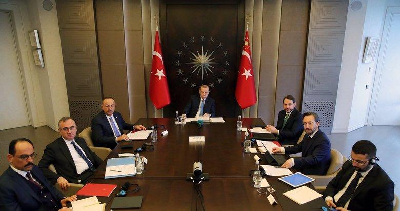 Başkan Erdoğan, video konferans yöntemiyle G20 Liderler Zirvesi'ne katıldı