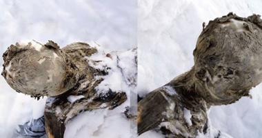 Buza gömülmüş cesetler, üç dağcıya ait