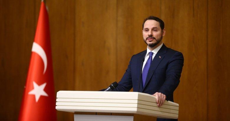 Hazine ve Maliye Bakanı Berat Albayrak'tan 4 şehit için taziye mesajı