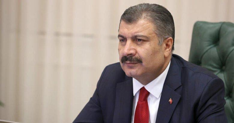Son dakika: Sağlık Bakanı Koca koronavirüs vaka sayısını açıkladı