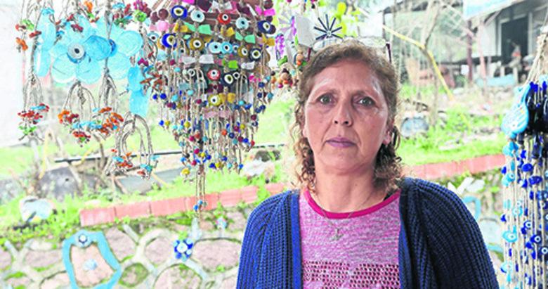 Nazarköy'de 'boncuk' kadın eliyle canlandı