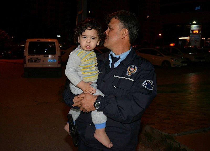 1 buçuk yaşındaki bebek evden kaçtı