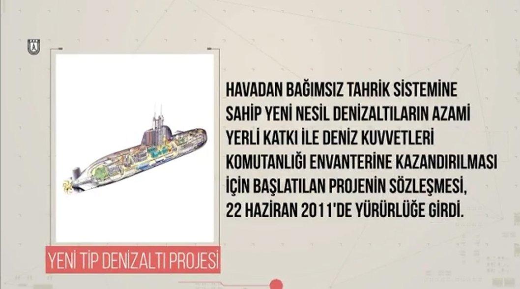 Türkiye'nin 2019 yılı deniz sistemleri hedefleri