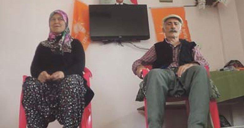 Erdoğan sevdalısı çift Külliye yolunda