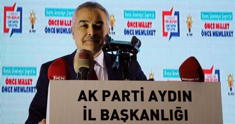 Aydın'da Büyükşehir adayı Mustafa Savaş